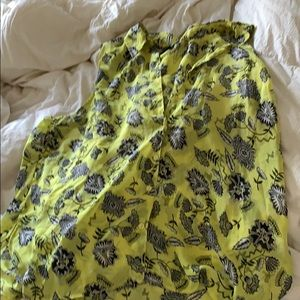 2X Funky Floral Collar Top